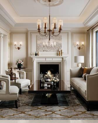 富裕型140平米复式美式风格客厅效果图