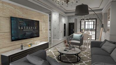 90平米欧式风格客厅图片