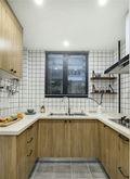 富裕型公寓北欧风格厨房图