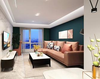 三室两厅混搭风格客厅图