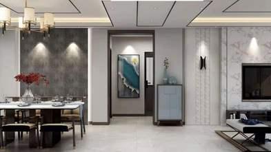 140平米四室四厅中式风格走廊图片大全