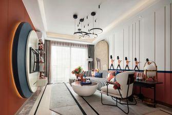 120平米复式美式风格客厅图
