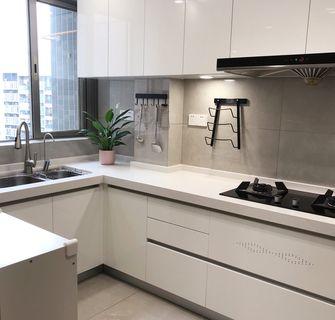富裕型100平米复式北欧风格厨房图片