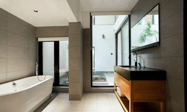 富裕型90平米三室一厅混搭风格卫生间装修图片大全