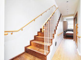 120平米田园风格楼梯间装修图片大全