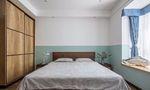经济型110平米三室两厅北欧风格卧室装修案例