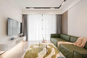 经济型90平米三室两厅现代简约风格客厅装修图片大全