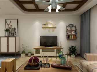 10-15万100平米三室四厅地中海风格客厅装修图片大全