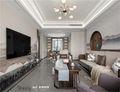 豪华型130平米四室四厅中式风格客厅欣赏图
