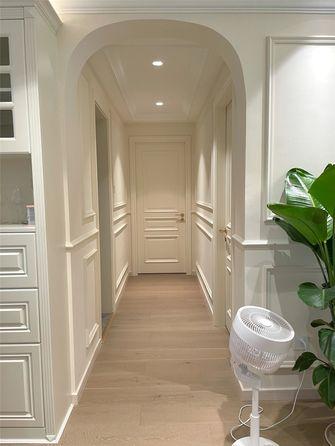 富裕型100平米三室两厅美式风格走廊图片大全
