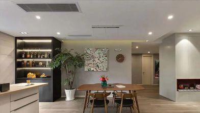 20万以上140平米四北欧风格餐厅装修图片大全