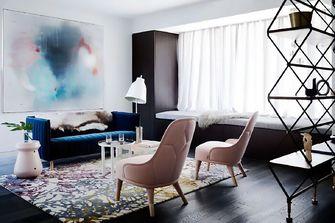 140平米复式美式风格客厅装修图片大全
