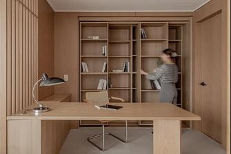 5-10万80平米日式风格书房欣赏图