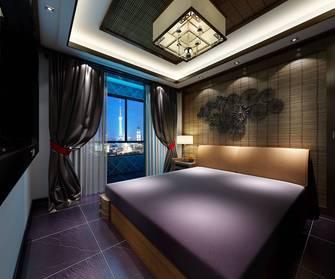 15-20万80平米东南亚风格卧室图片