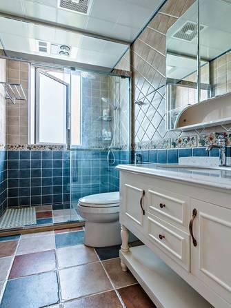 豪华型130平米三室两厅美式风格卫生间欣赏图