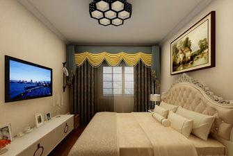 80平米一室两厅地中海风格卧室图片大全