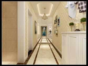 经济型140平米三室两厅欧式风格玄关图片