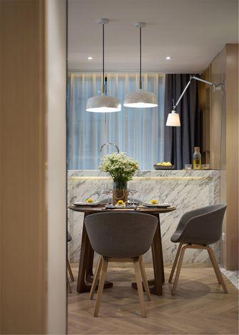 富裕型60平米公寓北欧风格餐厅装修图片大全