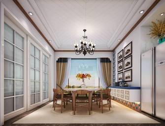 20万以上140平米别墅英伦风格餐厅装修效果图
