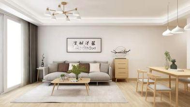富裕型120平米三日式风格客厅装修图片大全