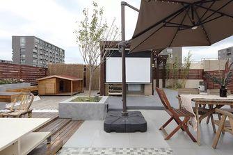 豪华型140平米复式田园风格阳台图