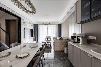 20万以上140平米别墅轻奢风格餐厅设计图