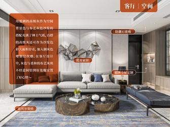 10-15万90平米三室三厅轻奢风格客厅欣赏图