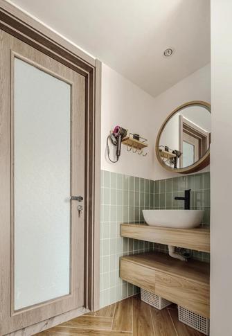 5-10万80平米三室两厅日式风格卫生间效果图