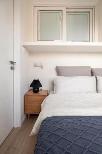 经济型60平米现代简约风格卧室设计图