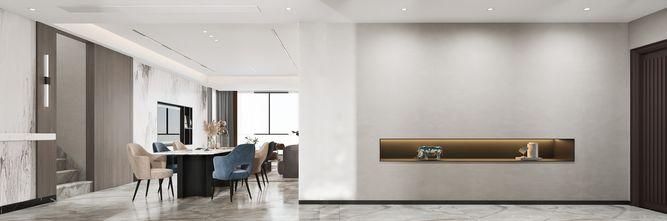 5-10万140平米四室两厅现代简约风格玄关装修案例