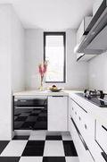 20万以上100平米三室两厅混搭风格厨房设计图