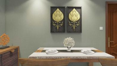 富裕型60平米东南亚风格餐厅图片大全