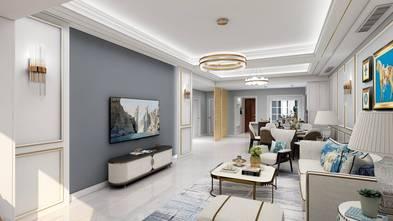 120平米三室两厅北欧风格客厅图片大全