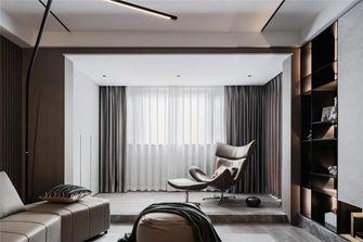富裕型140平米三室一厅现代简约风格阳台图片