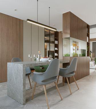 富裕型120平米三室两厅现代简约风格餐厅装修案例