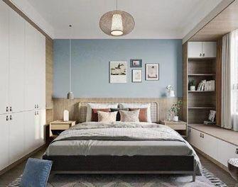 130平米三室两厅日式风格卧室图片