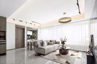 3-5万80平米轻奢风格客厅设计图