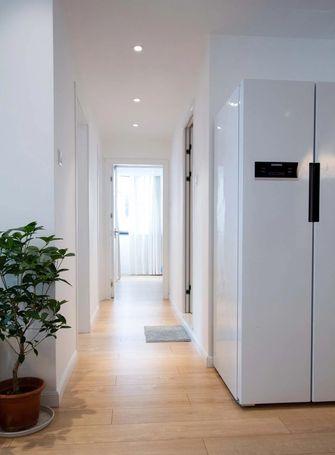 富裕型80平米三室两厅日式风格走廊装修案例