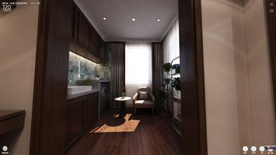 经济型140平米别墅中式风格阳台效果图