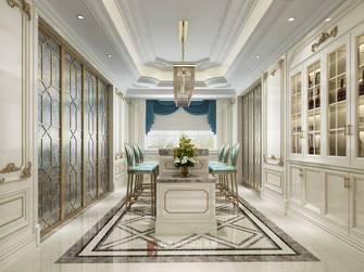 20万以上140平米别墅英伦风格厨房装修案例