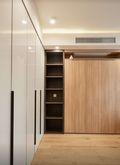 富裕型100平米三室两厅日式风格衣帽间图