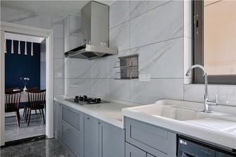 经济型80平米三室两厅混搭风格厨房欣赏图