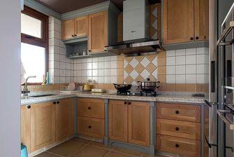 3万以下130平米三室一厅美式风格厨房装修效果图