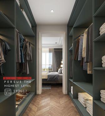 20万以上140平米别墅法式风格衣帽间效果图