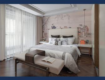 130平米三室一厅中式风格卧室图片