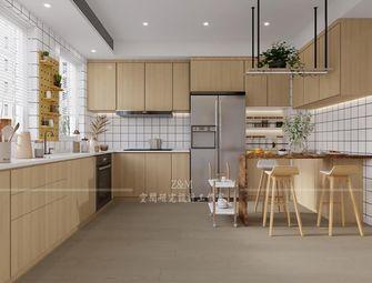 经济型140平米三室两厅日式风格厨房设计图