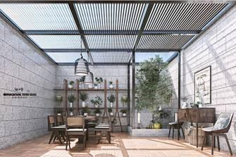 20万以上140平米别墅中式风格阳光房装修效果图