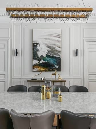 豪华型140平米四室两厅英伦风格餐厅图片大全