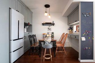 120平米三室一厅美式风格餐厅图片