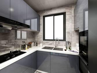 20万以上90平米工业风风格厨房图